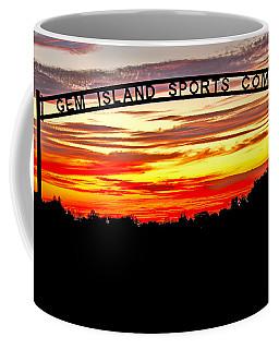 Beautiful Sunset And Emmett Sport Comples Coffee Mug