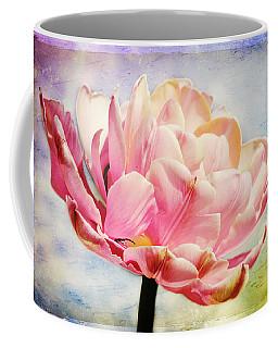 Coffee Mug featuring the photograph Beautiful Tulip by Trina  Ansel