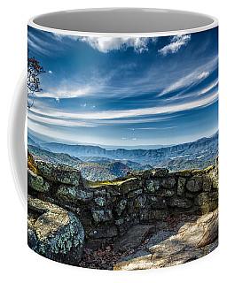 Beautiful View Of Mountains And Sky Coffee Mug