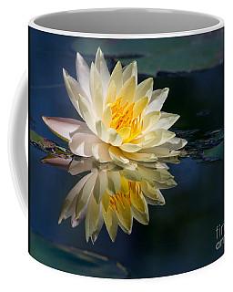 Beautiful Water Lily Reflection Coffee Mug