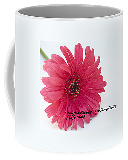Beauty And Simplicity Coffee Mug by Patrice Zinck