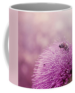 Beauty And The Bee Coffee Mug by Trish Mistric