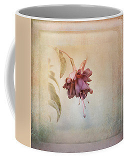 Beauty Fades Softly Framed Coffee Mug by Susan Capuano