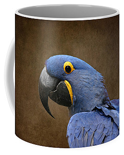 Beauty Is An Enchanted Soul - Hyacinth Macaw - Anodorhynchus Hyacinthinus Coffee Mug