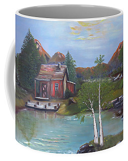 Beaver Pond - Mary Krupa Coffee Mug