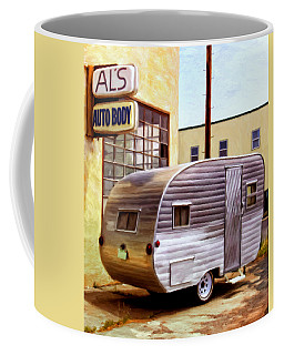 Becky's Vintage Travel Trailer Coffee Mug