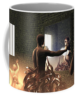 Becoming Disturbed Coffee Mug