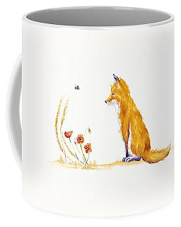 Bee A Summer Fox Coffee Mug