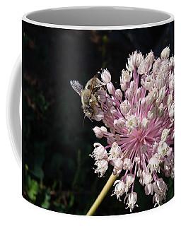 Bee And Allium Coffee Mug
