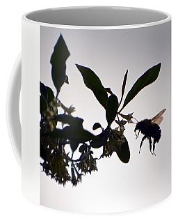 Bee In Flight  Coffee Mug by Kerri Farley