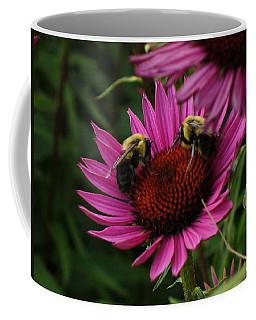 Coffee Mug featuring the photograph Beelievers by Lingfai Leung
