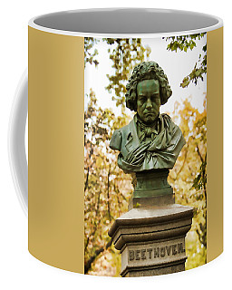 Beethoven In Central Park Coffee Mug