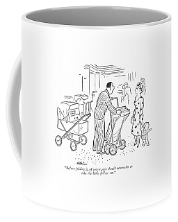 Before Folding Coffee Mug