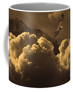 Before Memory . I Have Soared With The Hawk Coffee Mug