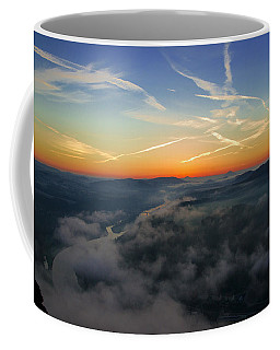 Before Sunrise On The Lilienstein Coffee Mug