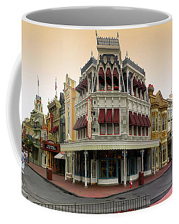 Before The Gates Open Magic Kingdom Main Street. Coffee Mug