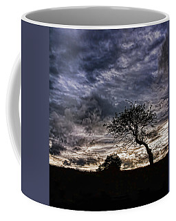 Nova Scotia's Lonely Tree Before The Storm  Coffee Mug