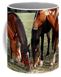 Beginning Of Stampede Coffee Mug