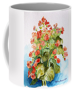 Begonias Still Life Coffee Mug