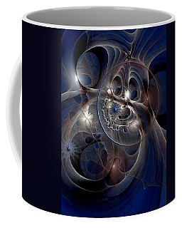 Coffee Mug featuring the digital art Beguiled At Twilight by Casey Kotas