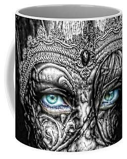 Behind Blue Eyes Coffee Mug by Mo T
