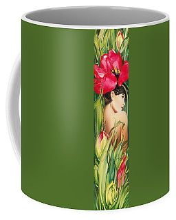 Behind The Curtain Of Colours -the Tulip Coffee Mug