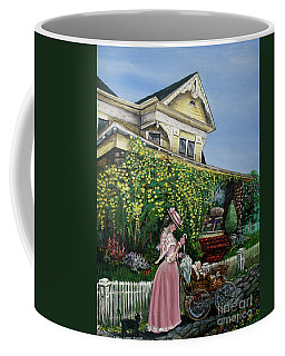 Behind The Garden Gate Coffee Mug