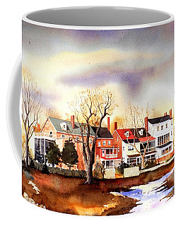 Behind The Strand In New Castle Coffee Mug