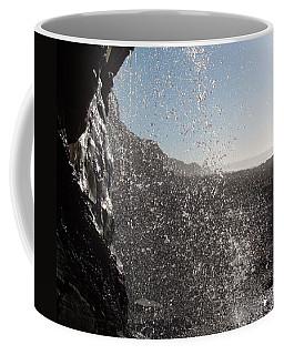 Behind The Waterfall Coffee Mug
