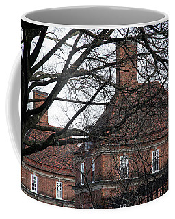 The British Ambassador's Residence Behind Trees Coffee Mug