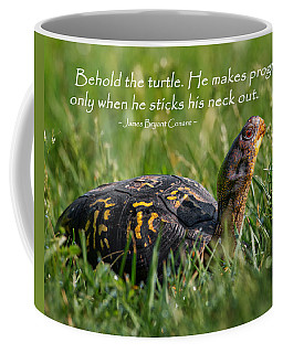 Behold The Turtle Coffee Mug