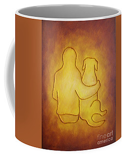 Being There 2 - Dog And Friend Coffee Mug