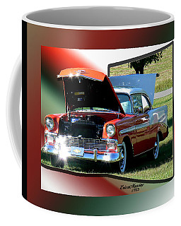 Coffee Mug featuring the photograph Bel Air 1950s-featured In Manufactured Items Group by Ericamaxine Price