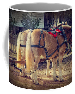 Belgium Draft Horses Coffee Mug