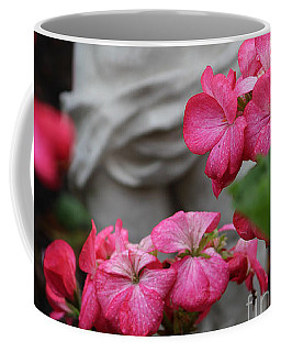Believe What Your Heart Feels - Angel Art Coffee Mug
