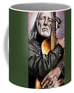 Believing In Rainbows And Butterflies-being Willie Coffee Mug