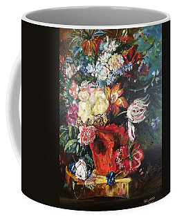 Life Is A Bouquet Of Flowers  Coffee Mug by Belinda Low