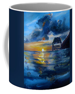 Belizean Sunrise Coffee Mug by Donna Tuten