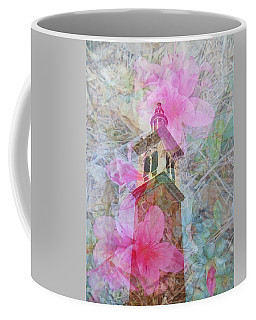 Bell Tower Wrapped In Spring Coffee Mug