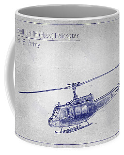 Bell Uh-1h Huey Helicopter  Coffee Mug by Barry Jones