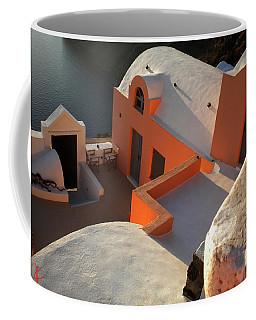 Coffee Mug featuring the photograph Bella Santorini Hause by Colette V Hera  Guggenheim