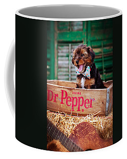 Belly Laugh Coffee Mug by Sennie Pierson