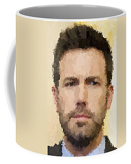 Ben Affleck Portrait Coffee Mug