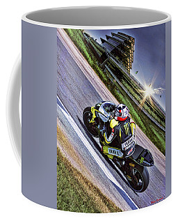 Ben Spies At Indy Coffee Mug