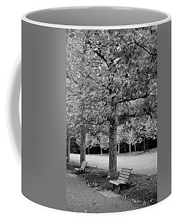 Benches In The Park Coffee Mug