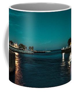 Bending Poles Coffee Mug by James  Meyer