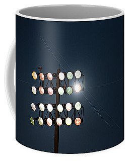 Beneath Friday Night Lights Coffee Mug by Trish Mistric