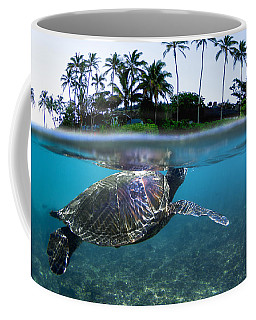 Beneath The Palms Coffee Mug