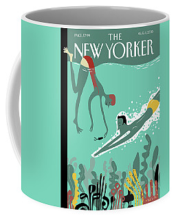 Beneath The Waves Coffee Mug