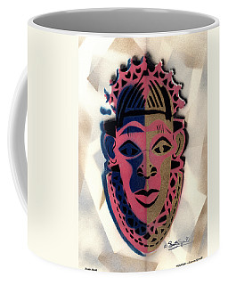 Benin Mask Coffee Mug